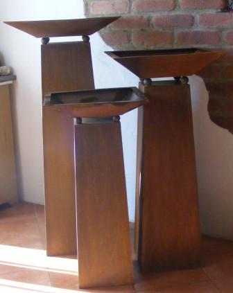 gartendeko rost. Black Bedroom Furniture Sets. Home Design Ideas